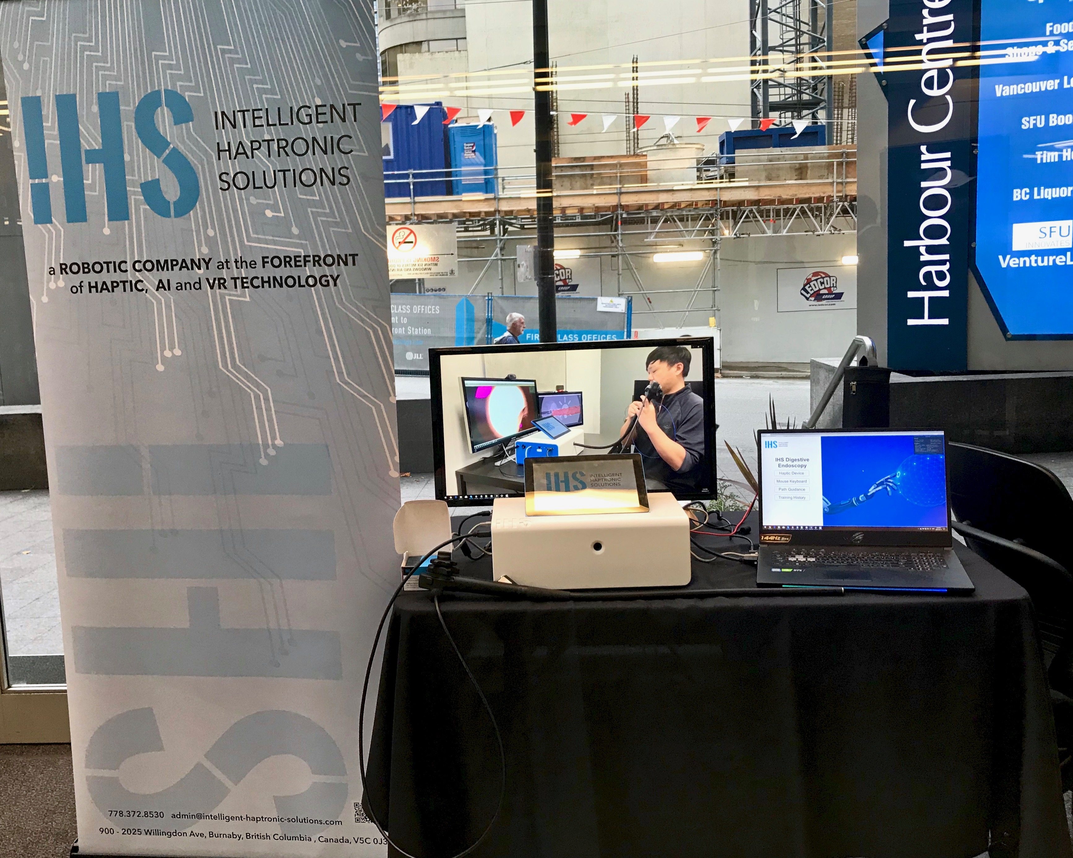 Intelligent Haptronic Solutions at Vancouver Startup Week 2019