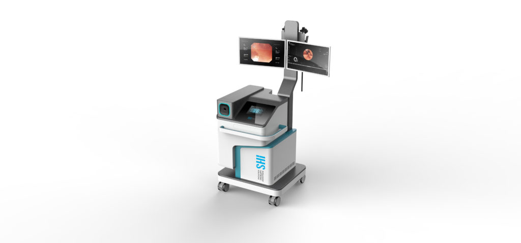 Intelligent Haptronic Solutions' Digestive Endoscopy Simulator Alpha Prototype