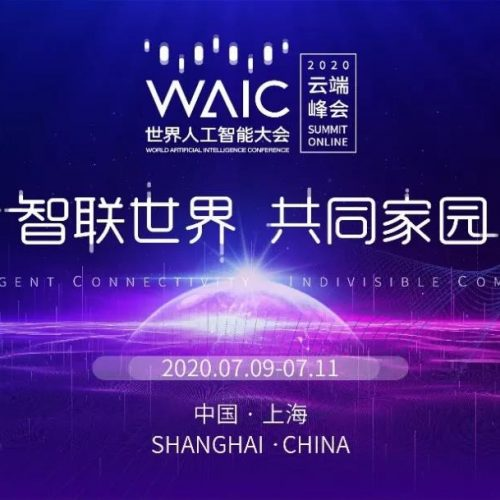 World World Artificial Intelligence Conference in Shanghai, China